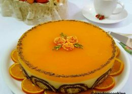طرز تهیه دسر رویای پرتقال